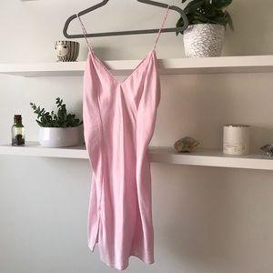 Frederick's of Hollywood 100% SILK Slip Dress M S